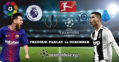 Prediksi Parlay Bola 14 Desember 2020
